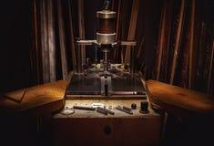 Machine pour les photos de encadrement Photographie stock libre de droits