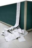 Machine-printed έγγραφα γραφείων διοικητικών μεριμνών CMA Στοκ Εικόνες