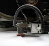 machine printing Arkivfoton