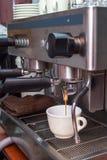Machine professionnelle de café Photographie stock