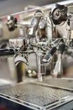 Machine professionnelle de fabricant de café d'expresso Photos stock