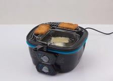 Machine profonde de friteuse photo stock