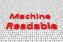 Machine readable Stock Photo