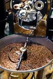 Machine for roast coffee beans Royalty Free Stock Photo