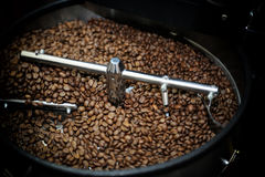 Machine for roasting coffee Stock Photography
