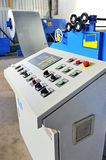 Machine for rolling steel sheet Stock Photography