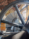 Machine room of historic steam pumping station Royalty Free Stock Photo