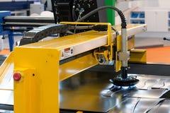 Machine scherp staal royalty-vrije stock foto's