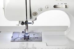 Machine sewing Stock Photo