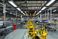 Machine shop royalty free stock photo