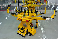Machine shop stock image
