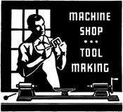 Machine Shop Stock Photo