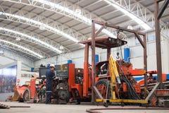Machine shop Royalty Free Stock Image