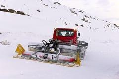 Machine for snow preparation Stock Photo