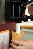 Machine for soft ice-cream Stock Images
