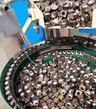 Machine Spot nut(feed nut). Machine Spot nut Automotive Industry Royalty Free Stock Photo