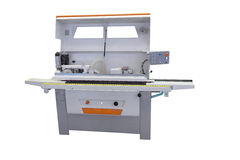 Machine for sticking on adhesive tape Stock Photos