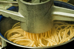 Machine for Swabian Spaetzle Stock Photography