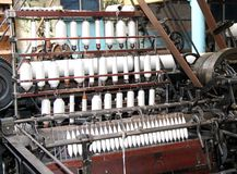 Machine textile Images stock