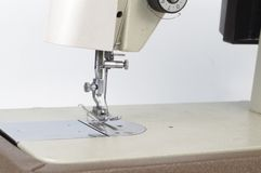 Machine to sewing Royalty Free Stock Image