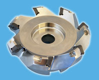Machine tool. The machine tool to cutting off of materials Stock Images