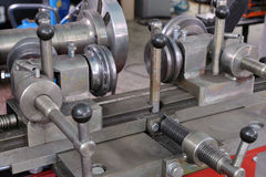 The machine tool for repair of automobile wheels Stock Images