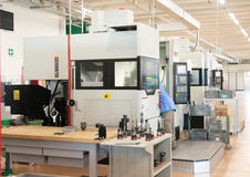 Machine tools with Computer Numerical Control (CNC) Stock Photos