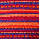 Machine à tricoter de tissu de fond Image stock
