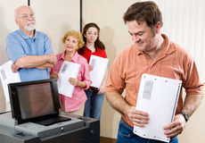 Machine à voter neuve Images stock