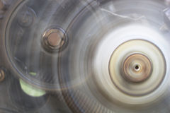 Machine Wheels Spinning Royalty Free Stock Photography