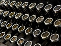 Machine for writing Royalty Free Stock Photos