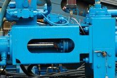 Machine2 idraulico Fotografie Stock