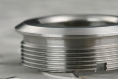 Machined workpiece Stock Image