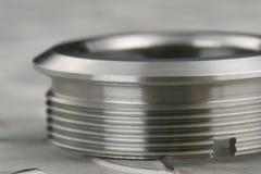 Machined workpiece stock image