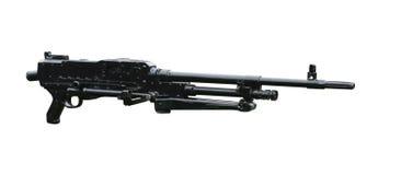 Machinegeweer. Royalty-vrije Stock Afbeeldingen