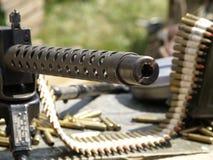 Machinegeweer stock afbeeldingen