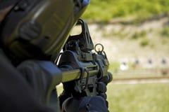 Machinegeweer Stock Foto