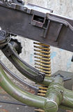 Machinegeweer van Wereldoorlog II stock fotografie