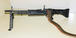 Machinegun för skurkroll M-60 Royaltyfri Bild