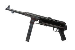 Machinegun MP-38 Royalty Free Stock Photos