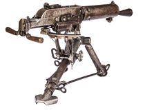 Machinegun Rear Royalty Free Stock Images