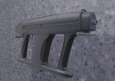 Machinepistool -2 beeld 1 Stock Afbeeldingen