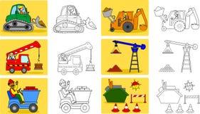 Machineries de la industria pesada libre illustration
