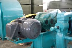 Machineries industrial em uma fundição Fotografia de Stock