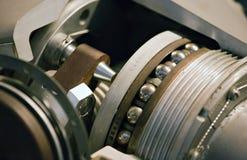 Machinery. Engine inside closeup, concept of machinery Stock Photo