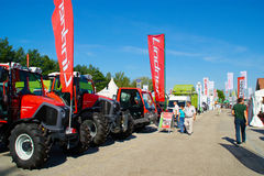 Machinery On Agricultural Fair Stock Images