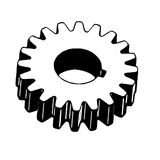Machinery cog by illustration Royalty Free Stock Images