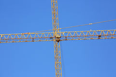 Machinery construction crane Royalty Free Stock Image
