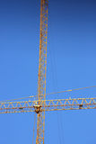 Machinery construction crane Royalty Free Stock Images