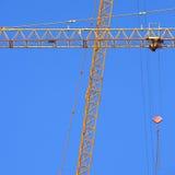 Machinery construction crane Royalty Free Stock Image
